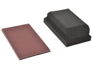 Flexovit FLV56830 - Hook & Loop Sanding Block Kit Assorted 70 x 125mm (3)