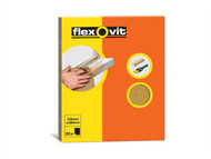 Flexovit FLV58231 - Glasspaper Sanding Sheets 230 x 280mm Grade OO (25)