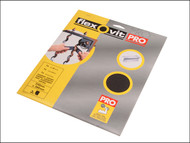 Flexovit FLV58251 - Emery Cloth Sanding Sheets 230 x 280mm Fine 100g (25)