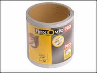 Flexovit FLV69916 - High Performance Sanding Roll 115mm x 10m Coarse 60g
