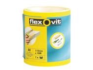 Flexovit FLV69921 - High Performance Sanding Roll 115mm x 5m Fine 120g