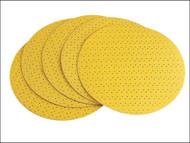 Flex Power Tools FLX282405 - Hook & Loop Sanding Paper Perforated To Suit WS-702 120 Grit Pack 25