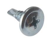 Forgefix FORDWSWHSD13 - Drywall Screw Wafer Head Self-Drill TFT ZP 4.2 x 13mm Bulk 1000