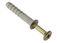 Forgefix FORHF660G - Hammer Fixing & Plug M6 x 60mm Bag 10