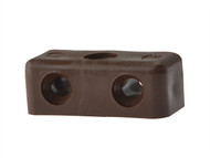 Forgefix FORMOD1B - Modesty Block Brown No.6-8 Blister 25