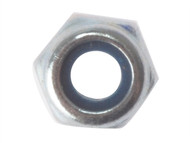 Forgefix FORNYLOC12G - Hexagon Nut & Nylon Insert ZP M12 Bag 50