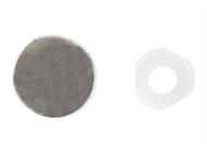 Forgefix FORPDT5M - Domed Cover Cap Chrome Coloured No. 6-8 Bag 25