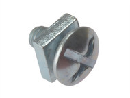 Forgefix FORRBN612M - Roofing Bolt ZP M6 x 12mm Bag 25