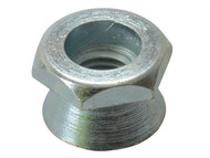 Forgefix FORSHNT8M - Shear Nut Zinc Plated M8 Bag 10