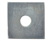 Forgefix FORSQPL5012M - Square Plate Washer ZP 50 x 50 x 12mm Bag 10
