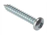 Forgefix FORSTP1148Z - Self-Tapping Screw Pozi Pan Head ZP 1.1/4 x 8 Box 200
