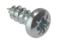 Forgefix FORSTP126Z - Self-Tapping Screw Pozi Pan Head ZP 1/2 x 6 Box 200
