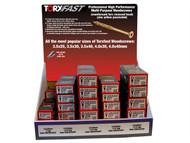 Forgefix FORTXFCTD1 - Torxfast Woodscrew 25-40Mm 50 Boxes Ctd