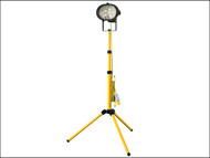 Faithfull Power Plus FPPSL500CTL - Sitelight Single With Tripod 500 Watt 110 Volt