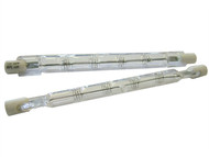 Faithfull Power Plus FPPSLT150WC - 78mm Halogen Tubes Class C 150 Watt 240 Volt (Pack of 2)