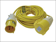 Faithfull Power Plus FPPTL1432AMP - Trailing Lead 14 Metre 3500W 32 Amp 2.5mm Cable 110 Volt