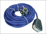 Faithfull Power Plus FPPTL14M - Trailing Lead 240 Volt 13 Amp 1.5mm Cable 14 Metre