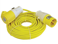 Faithfull Power Plus FPPTL14ML - Trailing Lead 14 Metre 1750w 16 Amp 1.5mm Cable 110 Volt