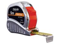 Fisco FSCTMC5M - TMC5M Chrome Tri-matic Tape 5m (Width 19mm)