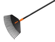 Fiskars FSK1003464 - Solid Leaf Rake - Medium