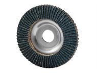 Garryson GARFD18036Z - Industrial Zirconium Flap Disc 180 x 22mm - 36 grit Coarse