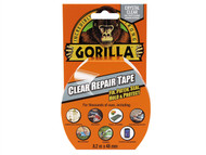 Gorilla Glue GRGCLTAPE48 - Gorilla Tape Clear Repair 48mm x 8.2m