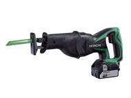 Hitachi HITCR18DSL - CR18DSL Sabre Saw 18 Volt 2 x 5.0Ah Li-Ion