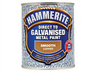 Hammerite HMMDGCO750 - Direct To Galvanised Metal Paint Copper 750ml
