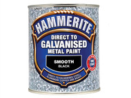 Hammerite HMMDGWH750 - Direct To Galvanised Metal Paint White 750ml