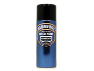 Hammerite HMMHFBLAERO - Direct to Rust Hammered Finish Aerosol Black 400ml