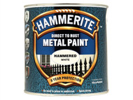 Hammerite HMMHFW25L - Direct to Rust Hammered Finish Metal Paint White 2.5 Litre