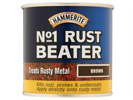 Hammerite HMMNO1DB250 - No.1 Rust Beater Paint Dark Brown 250ml