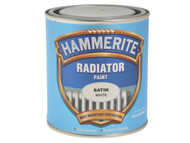 Hammerite HMMRES500 - Radiator Paint Satin White 500ml