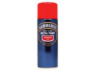 Hammerite HMMSFRAERO - Direct to Rust Smooth Finish Aerosol Red 400ml