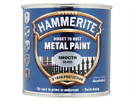Hammerite HMMSFS750 - Direct to Rust Smooth Finish Metal Paint Silver 750ml