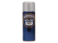 Hammerite HMMSFSIAERO - Direct to Rust Smooth Finish Aerosol Silver 400ml