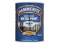 Hammerite HMMSFW250 - Direct to Rust Smooth Finish Metal Paint White 250ml
