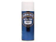Hammerite HMMSFWAERO - Direct to Rust Smooth Finish Aerosol White 400ml