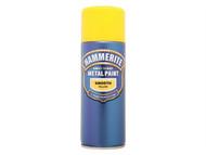 Hammerite HMMSFYAERO - Direct to Rust Smooth Finish Aerosol Yellow 400ml
