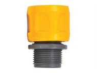 Hozelock HOZ2170 - 2170 Flat Hose & Spiral Hose Adaptor (3/4in) BSP