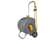 Hozelock HOZ2416 - 2416 Freestanding Compact Hose Reel & 30 Metres of 12.5mm Hose