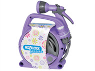 Hozelock HOZ2425PURP - Seasons Pico Reel & Spray Gun Purple