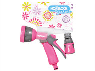Hozelock HOZ2476PINK - Seasons Multispray Gun & Fittings Pink