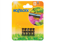 Hozelock HOZ2779 - Blanking Plug13mm (10 Pack)
