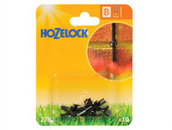 Hozelock HOZ2782 - Wall Clip 4mm (10 Pack)