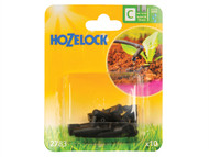 Hozelock HOZ2783 - End Line Dripper 4mm/13mm (10 Pack)