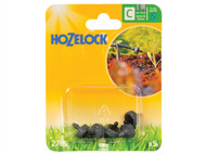 Hozelock HOZ2785 - End Line Pressure Dripper 4mm/13mm (5 Pack)