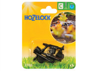 Hozelock HOZ2786 - In Line Adjustable Mini Sprinkler 4mm (5 Pack)