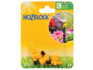 Hozelock HOZ2793 - Adjustable Micro Jet 90 Degree 4mm/13mm (3 Pack)