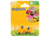 Hozelock HOZ2794 - Adjustable Micro Jet 180 Degree 4mm/13mm (3 Pack)